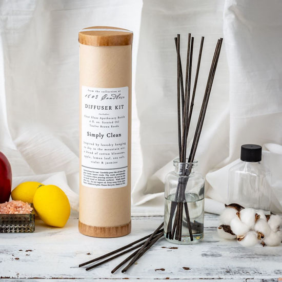 Simply Clean Diffuser Kit  by 1803 Candles