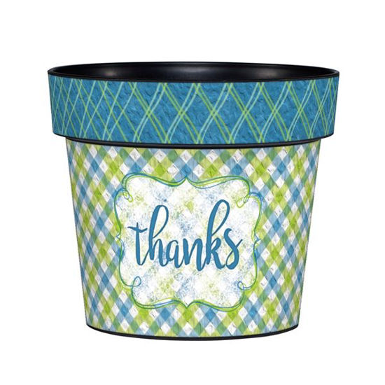 "Thanks 6"" Art Pot by Studio M"