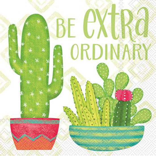 Extra-ordinary Cactus Luncheon Napkin by Boston International
