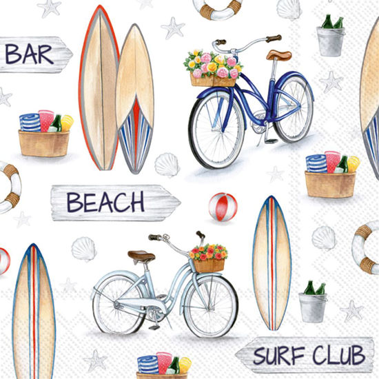 Surf Club Luncheon Napkin by Boston International