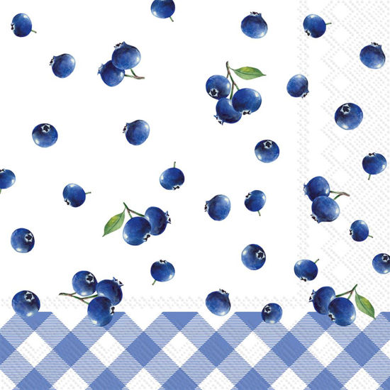 Blueberry Cocktail Napkin by Boston International