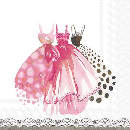 In The Pink Luncheon Napkin by Boston International