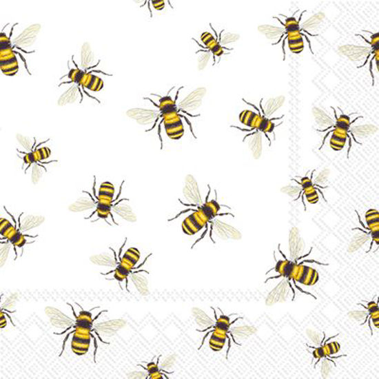 Save the Bees Cocktail Napkin by Boston International