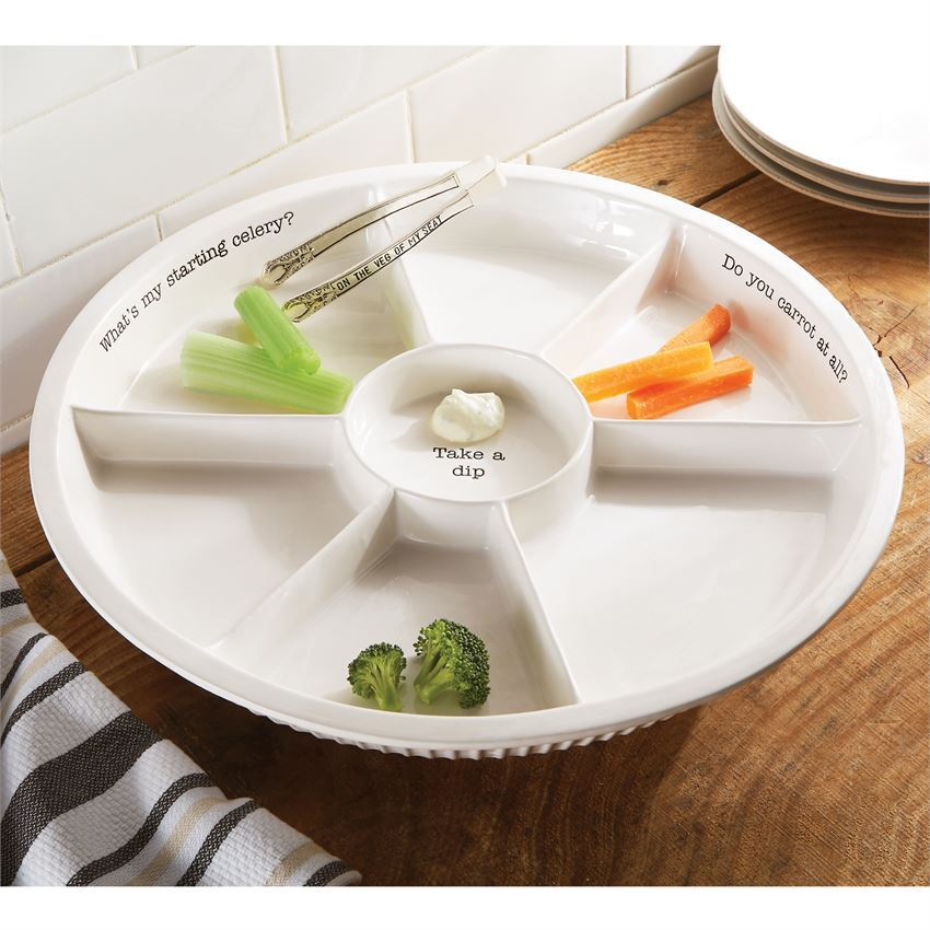 Veggie Dip Set by Mudpie