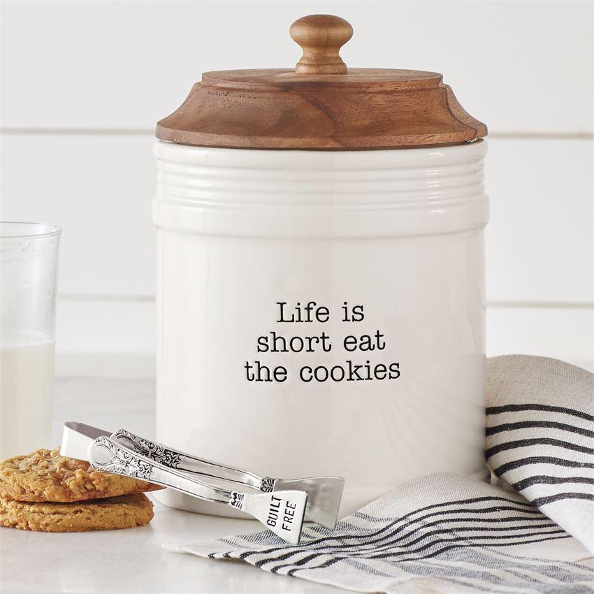 Eat Cookies Jar by Mudpie
