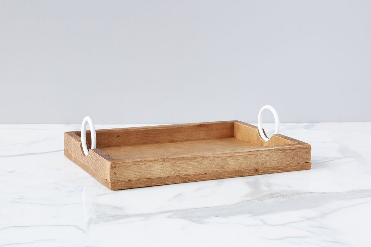 Bianca Rectangle Tray Small by etúHOME