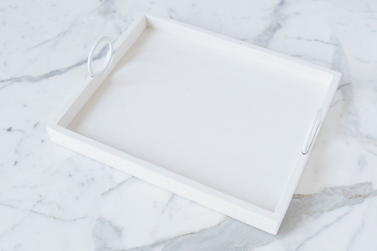 Bianca Rectangle Tray Large by etúHOME