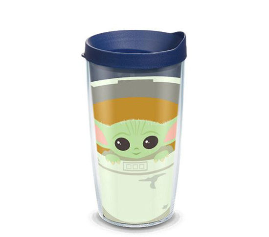 Mandalorian - The Child in Carrier 16oz. Tumbler by Tervis