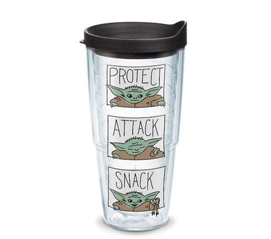 Mandalorian - The Child Protect Attack Snack 24oz Tumbler by Tervis