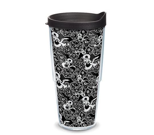 Dungeons & Dragons Pattern 24oz Tumbler by Tervis