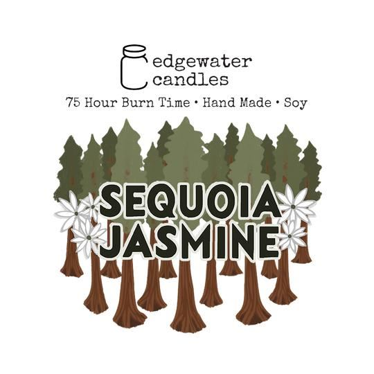 Sequoia Jasmine Jar by Edgewater Candles