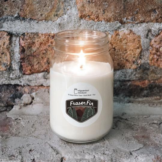 Fraser Fir Jar by Edgewater Candles
