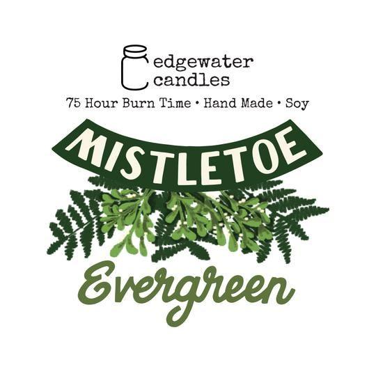 Mistletoe Evergreen Jar by Edgewater Candles