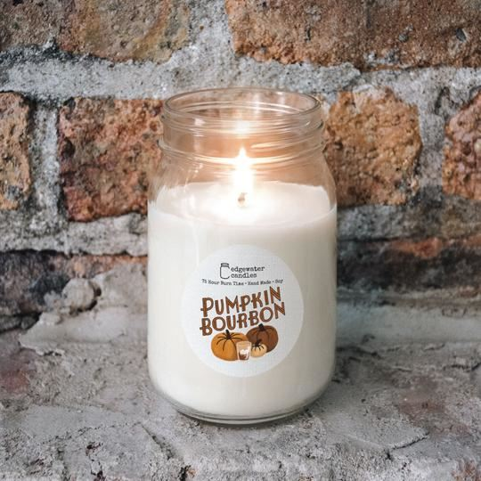 Pumpkin Bourbon Jar by Edgewater Candles