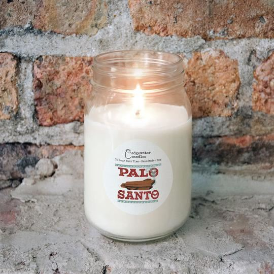 Palo Santo Jar by Edgewater Candles