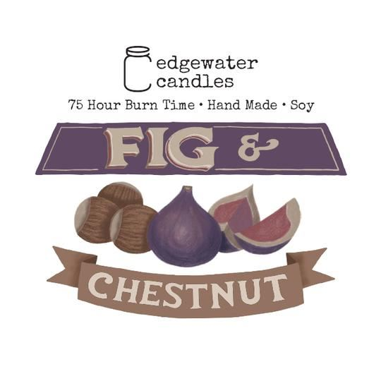 Fig and Chestnut Jar by Edgewater Candles