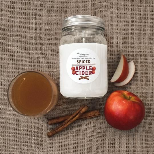 Spiced Apple Cider Jar by Edgewater Candles
