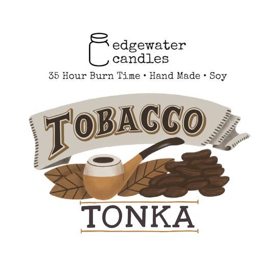 Tobacco Tonka Travel Tin by Edgewater Candles