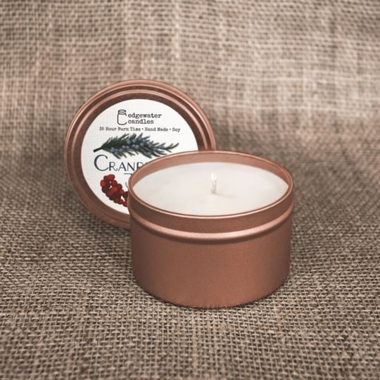 Cranberry Juniper Travel Tin by Edgewater Candles