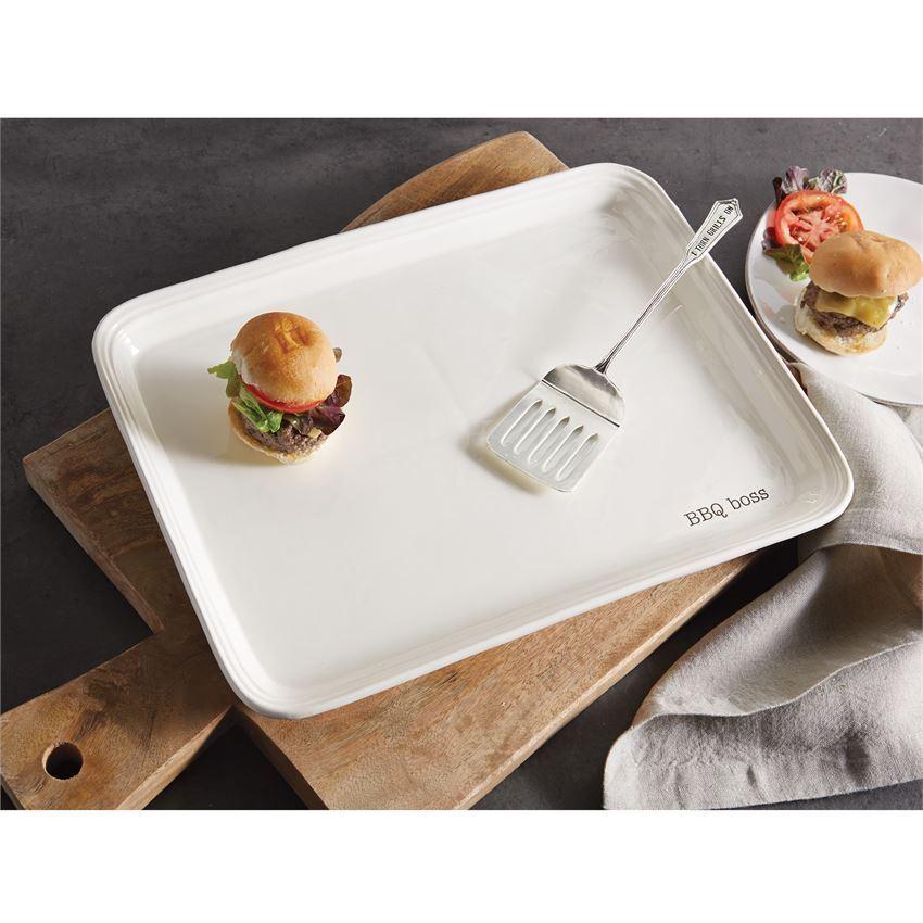 BBQ Boss Platter Serving Set by Mudpie