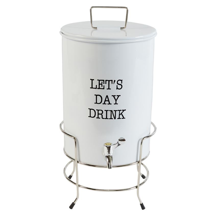 Let's Day Drink Dispenser & Stand by Mudpie
