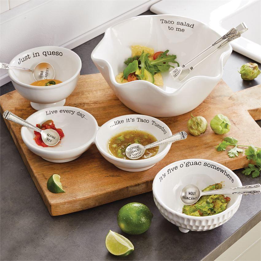 Taco Salad Set by Mudpie