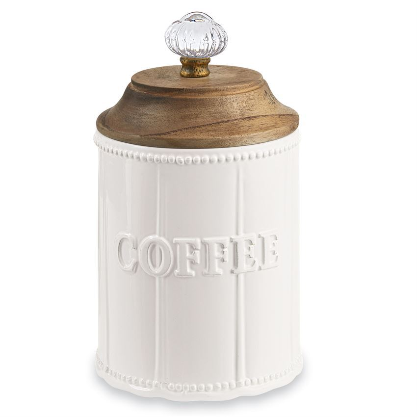 Door Knob Coffee Canister by Mudpie