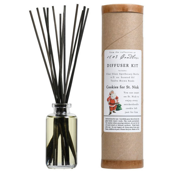 Cookies for St. Nick Diffuser Kit  by 1803 Candles