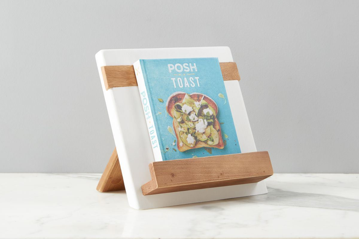 White Mod iPad / Cookbook Holder by etúHOME
