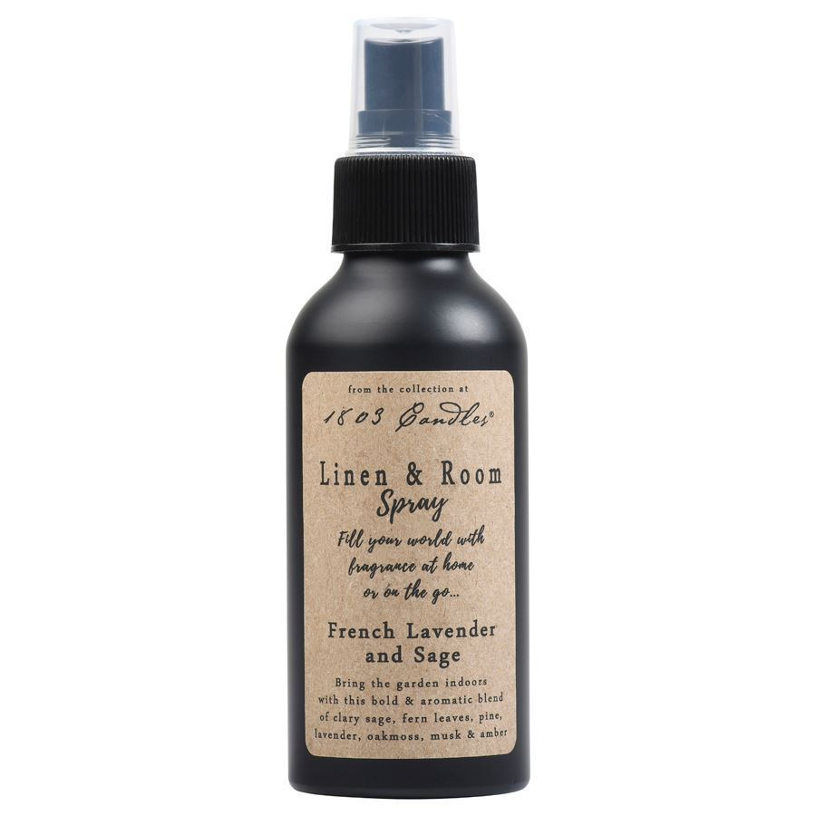 French Lavender & Sage Linen & Room Spray by 1803 Candles