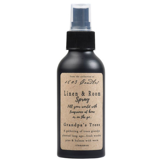 Grandpa's Trees Linen & Room Spray by 1803 Candles