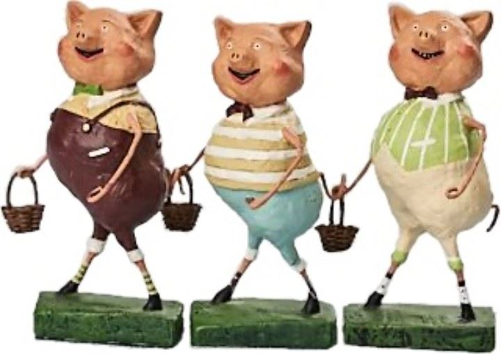 Three Lil' Pigs by Lori Mitchell