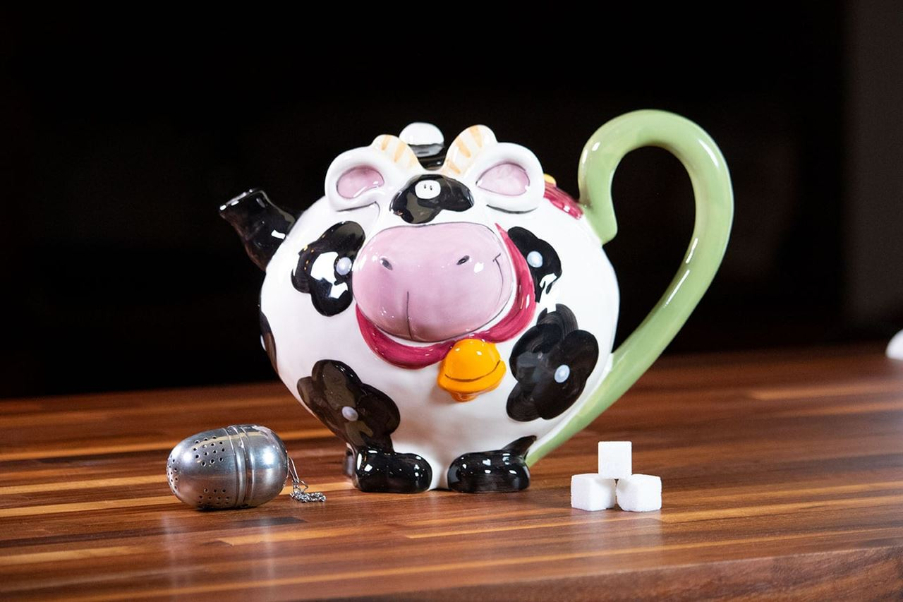 Cow Teapot by Blue Sky Clayworks