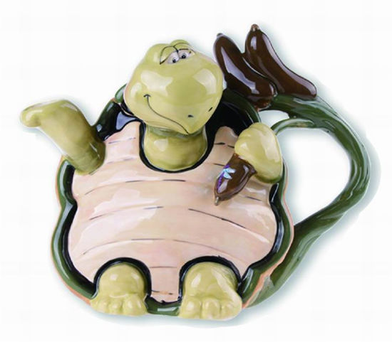 Turtle Teapot by Blue Sky Clayworks