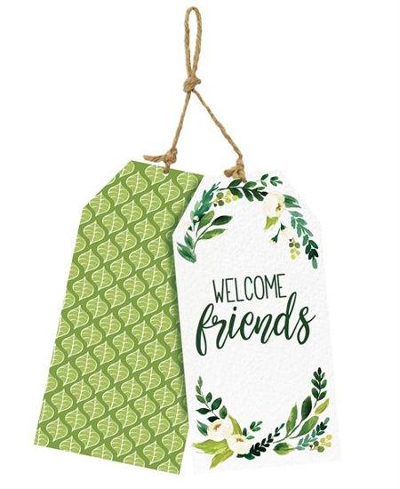 Welcome Friends Door Decor by Studio M