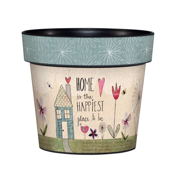 "My Happy Place 6"" Art Pot by Studio M"