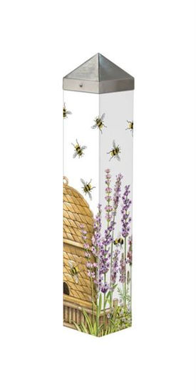 "Beehive 20"" Art Pole by Studio M"