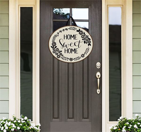 Farmhouse Welcome Door Decor by Studio M