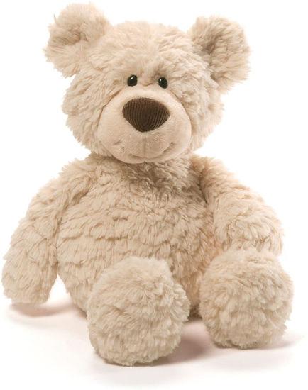 """Pinchy Beige Bear 17"""" by Gund"""