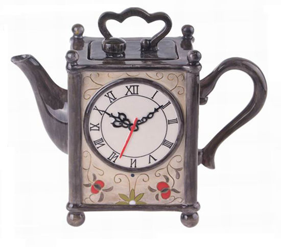 Clock Teapot by Blue Sky Clayworks