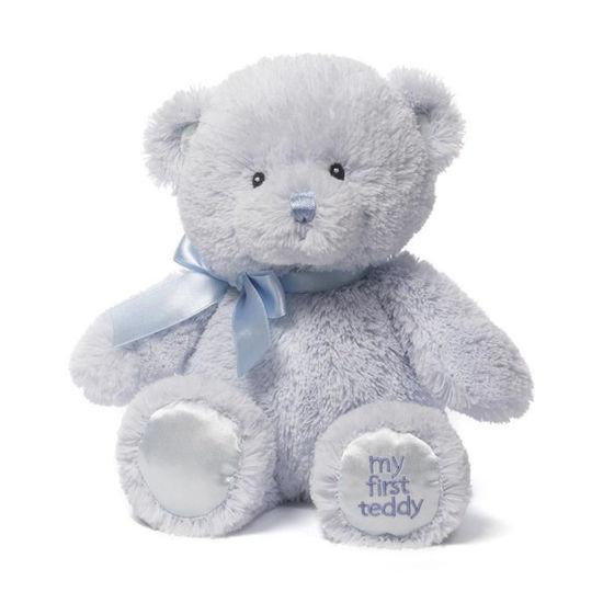 """My 1st Teddy Blue 10"""" by Gund"""