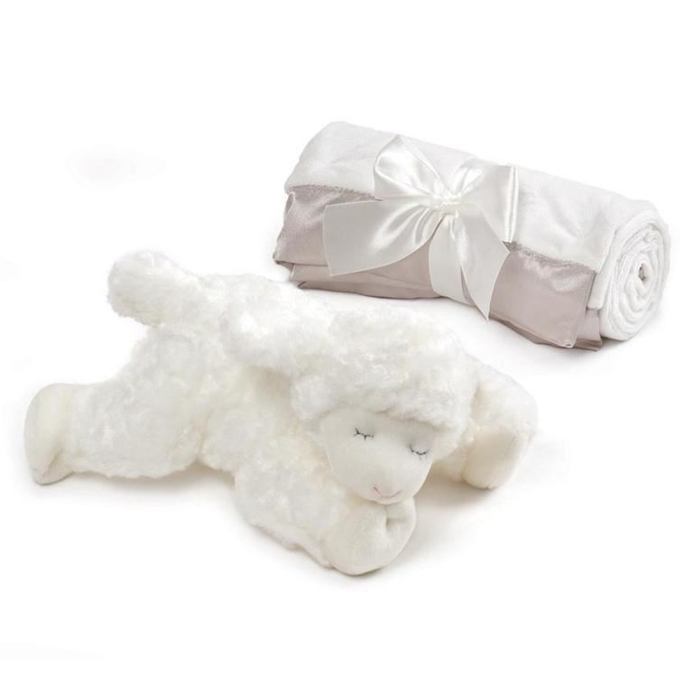 Winky Lamb with Blanket by Gund