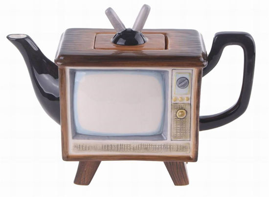 Television Teapot by Blue Sky Clayworks