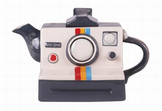 Camera Teapot by Blue Sky Clayworks