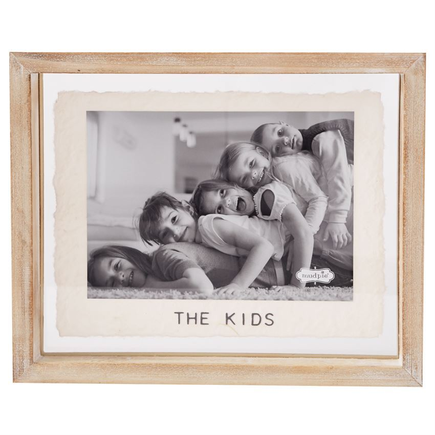 The Kids Glass Frame by Mudpie