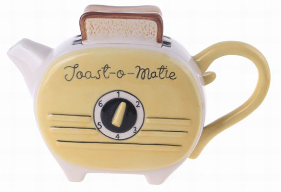 Yellow Toast Teapot by Blue Sky Clayworks