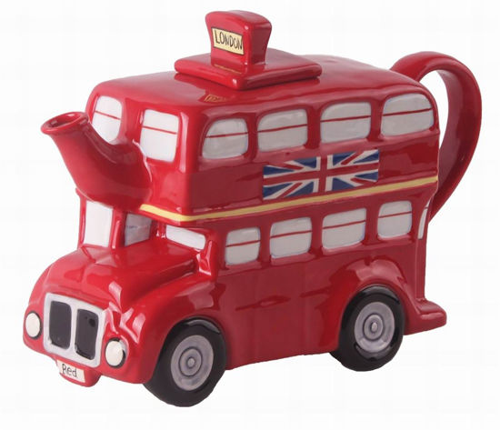 London Bus Teapot by Blue Sky Clayworks