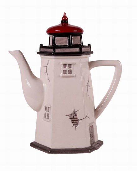 Lighthouse Teapot by Blue Sky Clayworks
