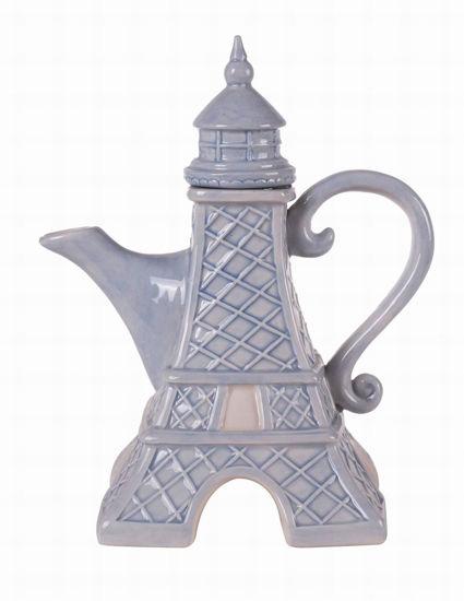 Eiffel Tower Teapot by Blue Sky Clayworks