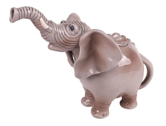 Elephant Teapot by Blue Sky Clayworks